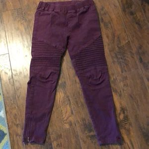Women's Moto Jeggings